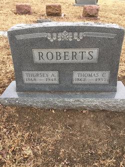 Thursey A. <I>Richardson</I> Roberts
