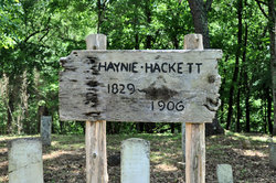 Haynie - Hackett Cemetery