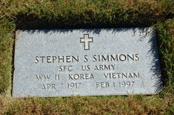Stephen S Simmons