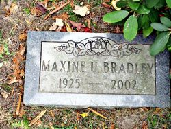 Maxine Bradley
