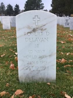 Robert D Delavan