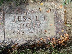 Jessie E Hoke