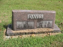 Gertia May <I>Tate</I> Davis