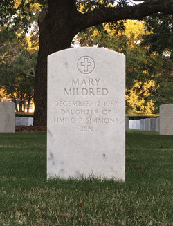 Mary Mildred Simmons