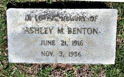 Ashley Monroe Benton, Jr
