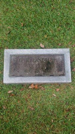 "Green Berry ""G. B."" Landrum"