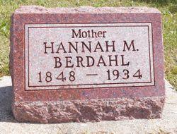 Hannah Marie <I>Brandvold</I> Berdahl