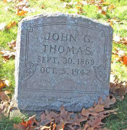 John G Thomas