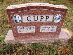 Norma Lou <I>Thompson</I> Cupp