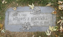 Dolores <I>Johnson</I> Blackwell