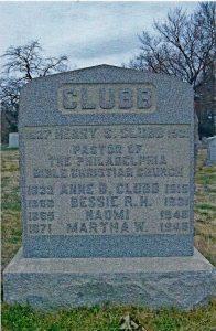 Rev Henry Stephen Clubb