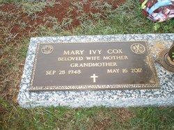 Mary <I>Ivy</I> Cox