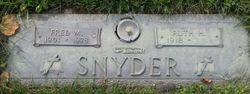 Fred M Snyder