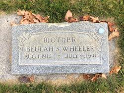 Beulah Florence <I>Stone</I> Wheeler