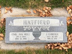 Ethel May <I>Reece</I> Hatfield