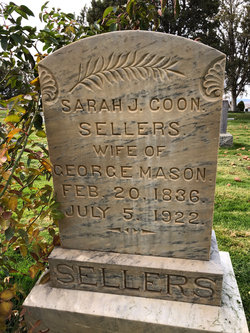Sarah J <I>Cooms</I> Sellars