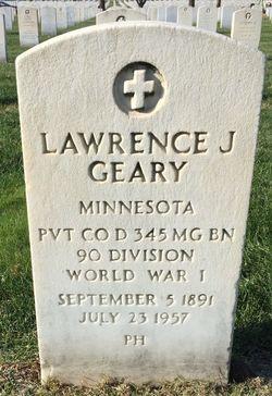 Lawrence J Geary