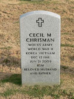"""Cecil Matthew """"Chris"""" Chrisman"""