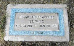 Jessie Lee <I>Bagwell</I> Towns