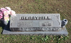 Ina Mai <I>Houston</I> Berryhill