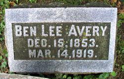 Ben Lee Avery