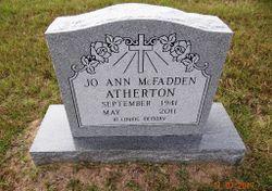 Jo Ann <I>McFadden</I> Atherton