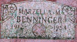 Marzella <I>Hall</I> Benninger