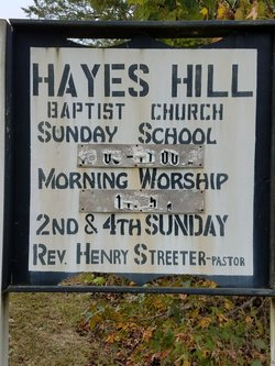 Hayes Hill Missionary Baptist Church Cemetery