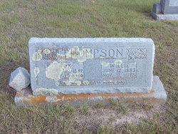 Willie <I>Thomason</I> Thompson