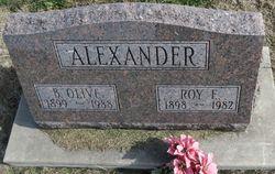 B. Olive Alexander