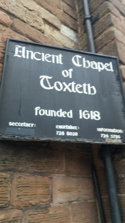 Ancient Chapel Of Toxteth Park