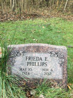 Frieda E <I>Reinhout</I> Phillips