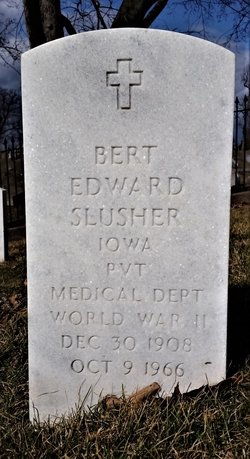 Bert Edward Slusher