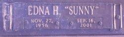 """Edna """"Sunny"""" <I>Hughes</I> Lomax"""