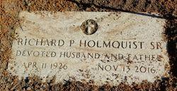 Richard P Holmquist, Sr