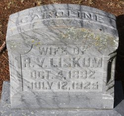 Caroline Augusta <I>Heileman</I> Liskum