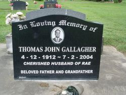 "Thomas John ""Tomo"" Gallagher"