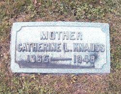 Catherine Louis <I>Beckerman</I> Knauss