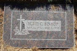 Elsie L <I>Church</I> Bishop