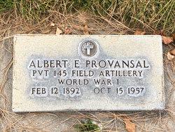 Albert E Provansal