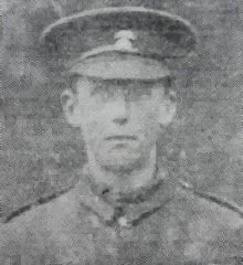 Private Andrew Thomas Booth