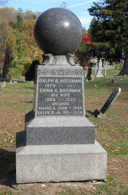 Ralph Benton Rossman, Sr