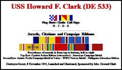 Lieut Howard Franklin Clark