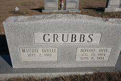 Bondie Otis Grubbs