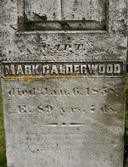 CPT Mark Calderwood
