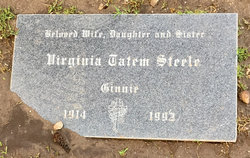 "Virginia Tatem ""Ginnie"" Steele"