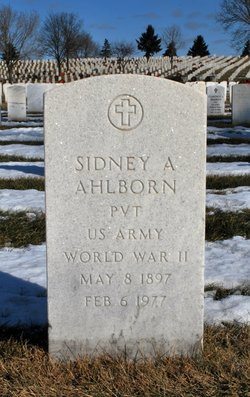 Sidney A Ahlborn