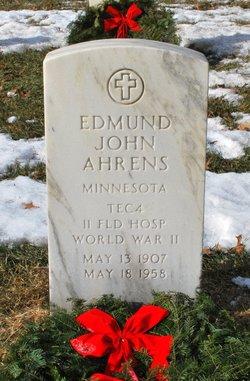 Edmund John Ahrens