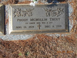 Peggy Sue <I>McMillin</I> Trout