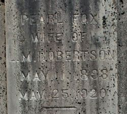 Minnie Pearl <I>Fox</I> Robertson